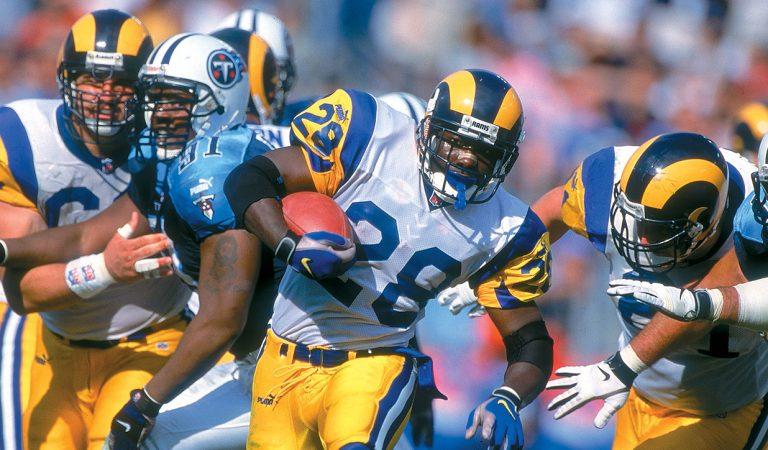 Los Rams de 1999. Una película grabada en la NFL.