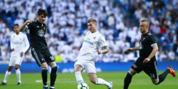 El Real Madrid vs Celta
