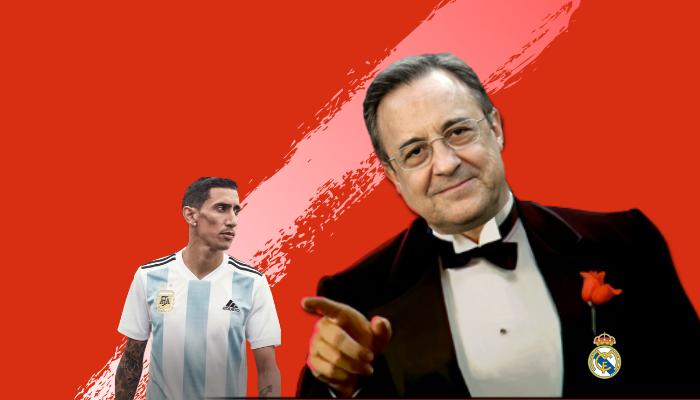 Las presiones del Real Madrid al fideo Di María en la final de 2014