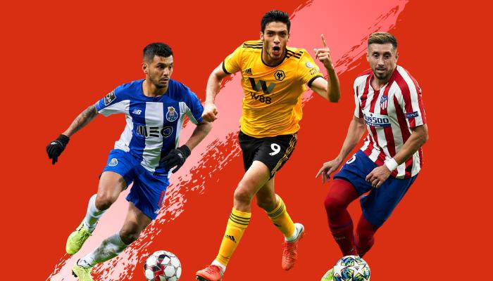 3 jugadores mexicanos que lideran los refuerzos de grandes clubs