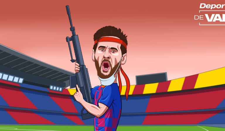 Messi arranca la Liga con la artillería pesada