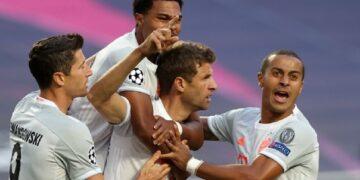 Escandalosa goleada del Bayern al Barça