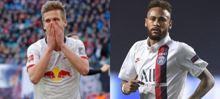 RB Leipzig versus PSG