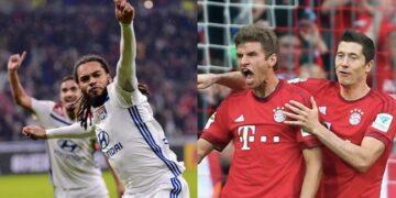Lyon versus Bayern