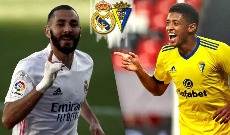 La Liga Española | Real Madrid vs Cádiz Pronóstico, Previa y Cuotas