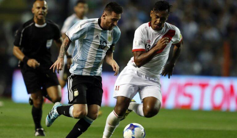 Selección Peruana¿Habrá  aliento del público contra Argentina ?