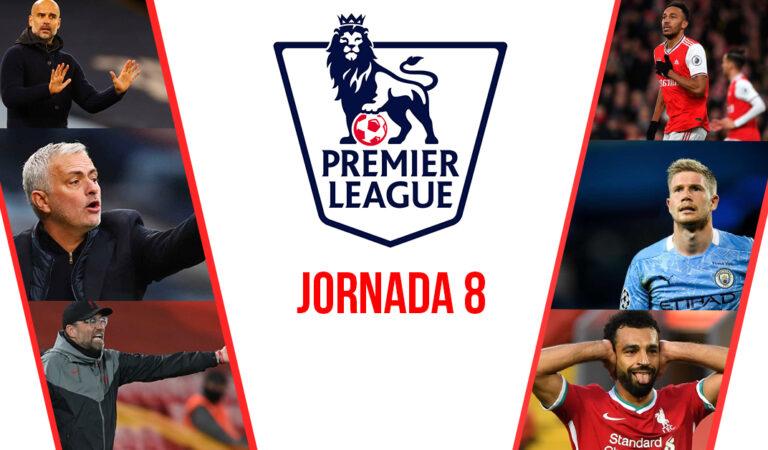 Jornada 8 Premier League | Previa y picks para ganar