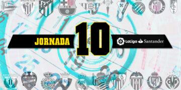 Jornada 10 La Liga