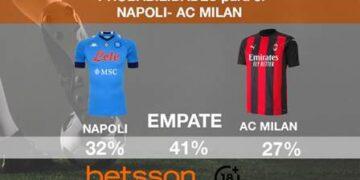 Transmisión en Vivo Nápoles vs Milan