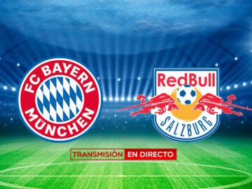 Transmisión en Directo Bayern vs Salzburgo