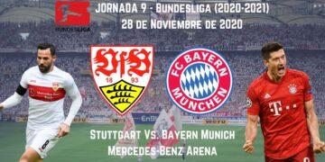 Pronosticos deportivos apuestas Stuttgart Vs. Bayern Munich 28 de noviembre analisis previa transmisión en vivo