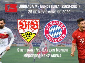 Pronosticos deportivos apuestas Stuttgart Vs. Bayern Munich 28 de noviembre analisis previa