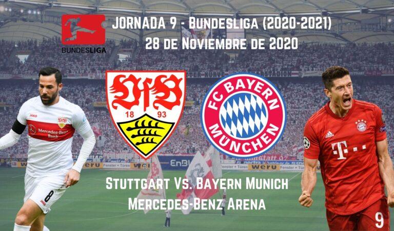 Stuttgart vs. Bayern Munich (28 nov) | Transmisión en Vivo