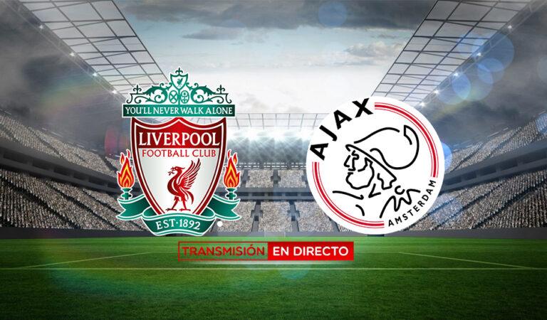 Liverpool vs Ajax (01 dic) | Transmisión en vivo [GRATIS]
