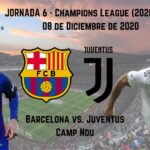 pronosticos deportivos barcelona juventus champions transmision en vivo
