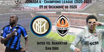 pronosticos deportivos inter shakhtar champions transmision en vivo