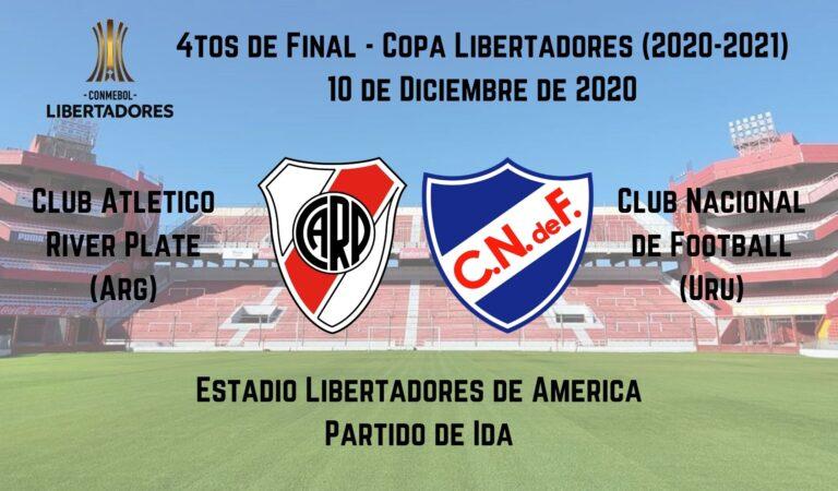 River Plate vs. Nacional (10 dic) | Pronósticos deportivos para apostar en fútbol
