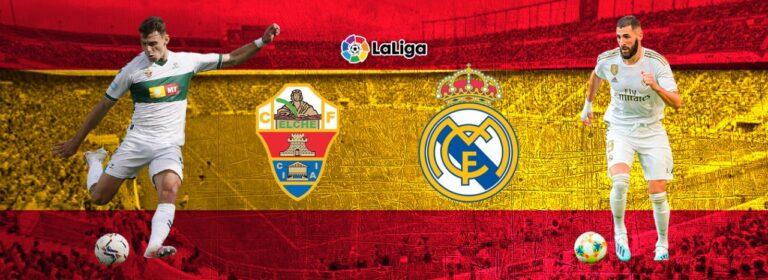 Apostar Elche vs Real Madrid