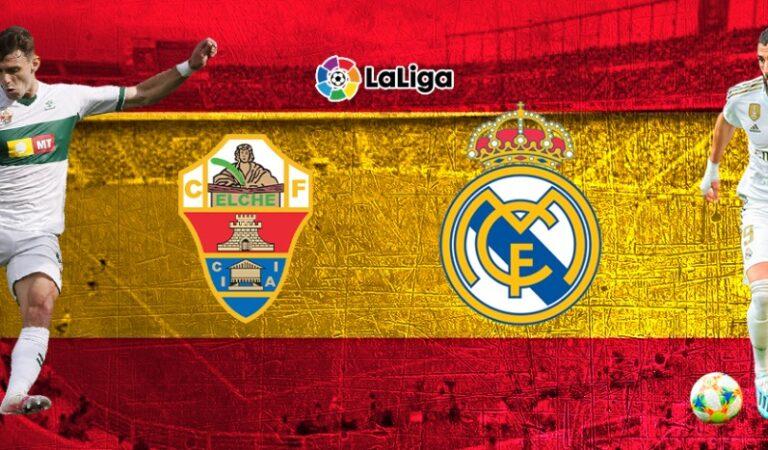 Elche vs Real Madrid |(30 dic) | Pronósticos deportivos para apostar en fútbol