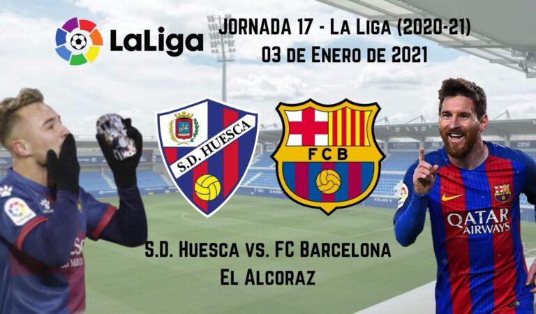 Huesca vs. Barcelona (03 ene)   Pronósticos deportivos en Fútbol