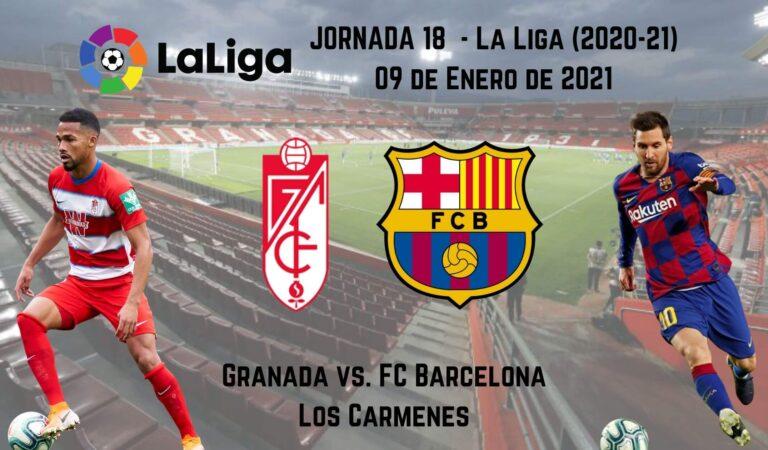 Granada CF vs FC Barcelona (09 ene) | Previa y cuotas para apostar en LaLiga