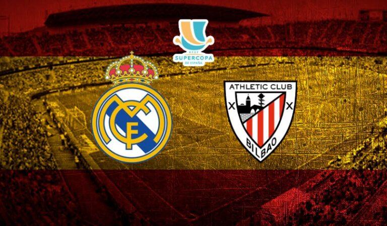 Real Madrid vs Athletic Bilbao (14 ene) | Previa y cuotas para apostar en el partido