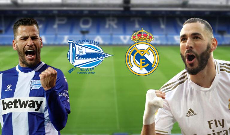 Alavés Vs Real Madrid  (23 ene) | Pronósticos deportivos para apostar en LaLiga