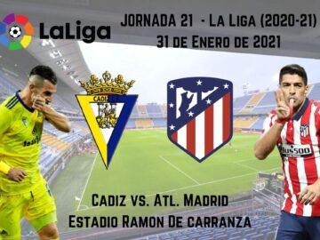 Pronósticos deportivos Cádiz Atl. Madrid