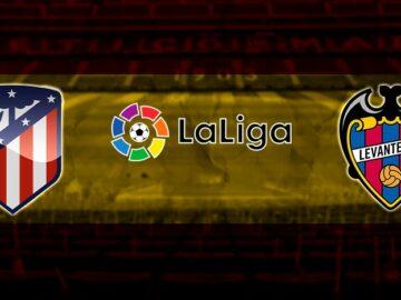 Apuestas online Atlético vs Levante