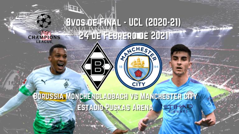 Apuestas Deportivas-Gladbach vs. Manchester City