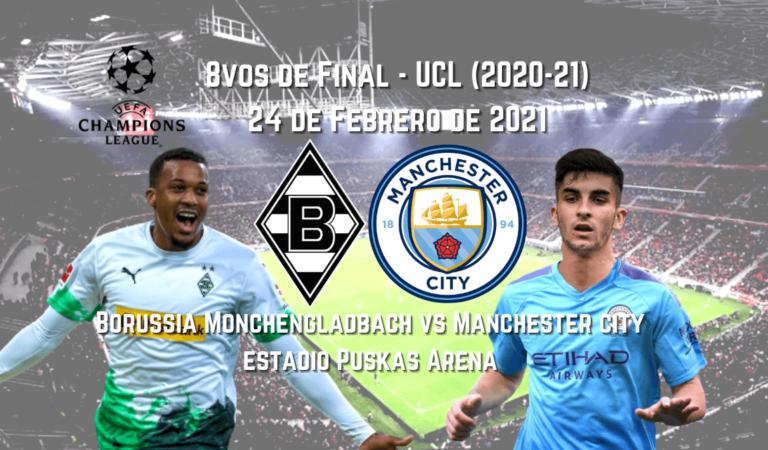 Gladbach vs. Manchester City  (24 Feb) | Apuestas Deportivas en Champions